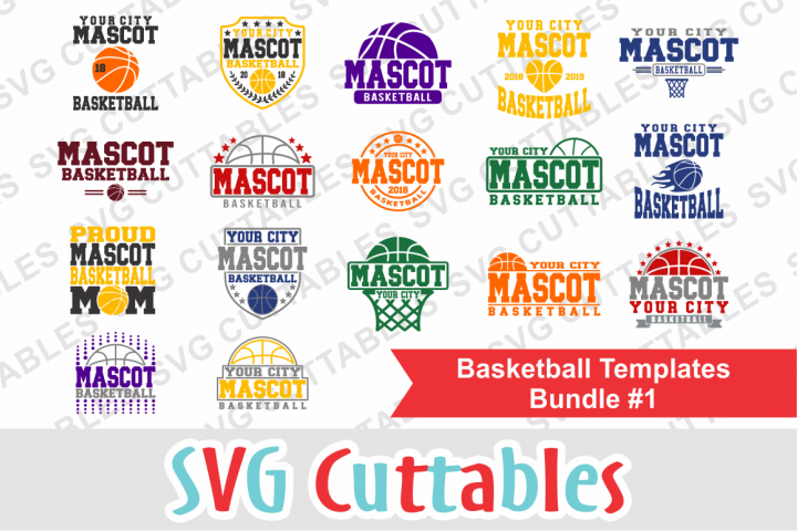 Basketball Bundle #1, svg cut files