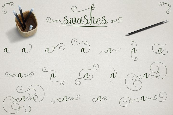 Australian Script - Free Font of The Week Design 5