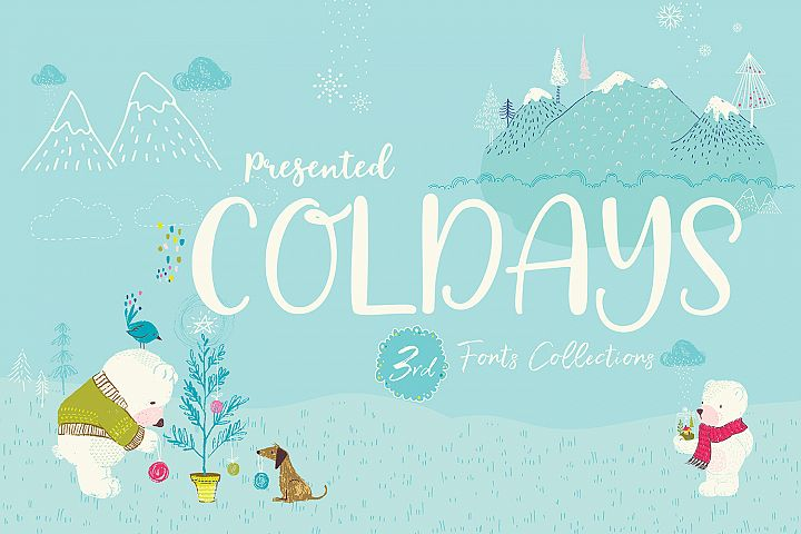Coldays Memories Font Pack