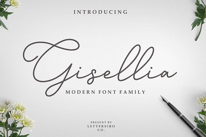 Gisellia Font Family
