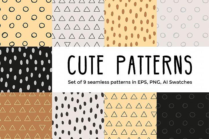 Cute vector Patterns