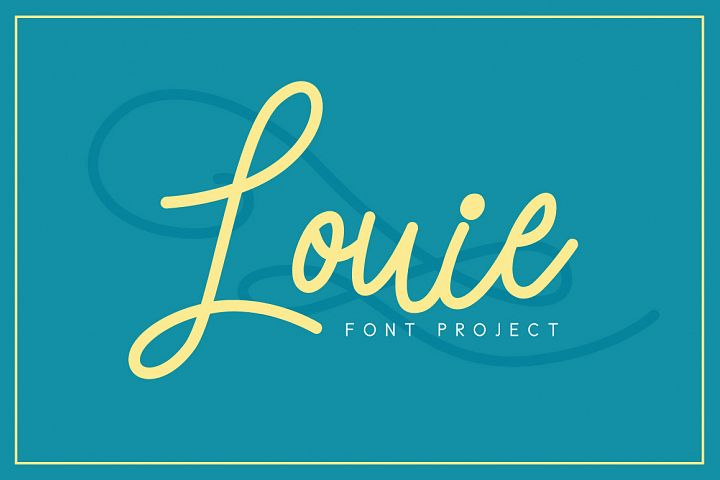 Louie Font - Free Font of The Week