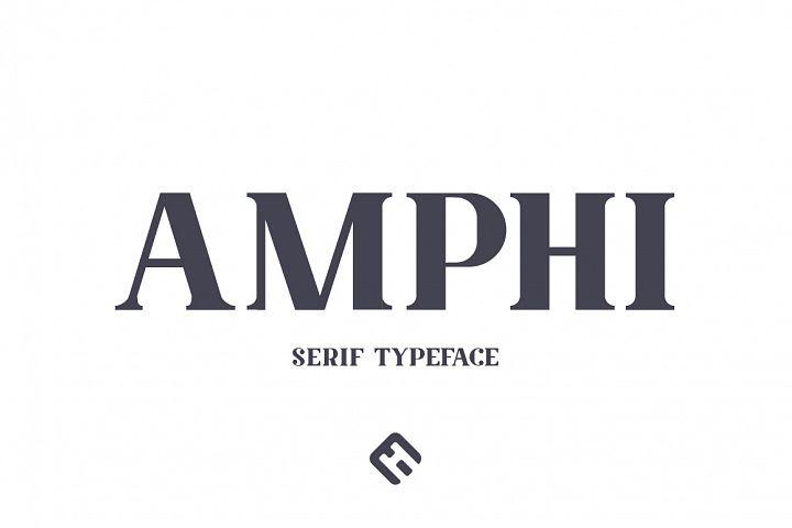 Amphi Typeface