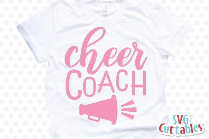 Cheer svg | Cheer Coach | Cut File