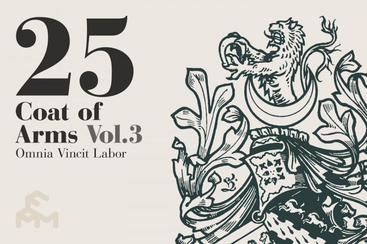 25 Coat Of Arms - Vol.3