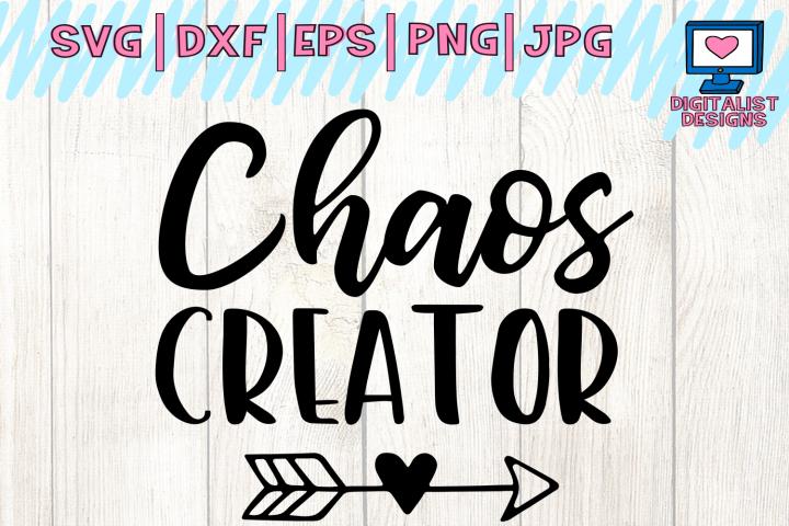 chaos creator svg, funny svg, heart arrow svg