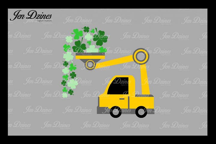 St. Patricks Day Loads of Luck SVG DXF EPS PNG