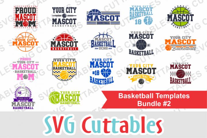Basketball Bundle #2, svg cut files