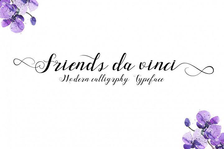 Friends Da Vinci Script