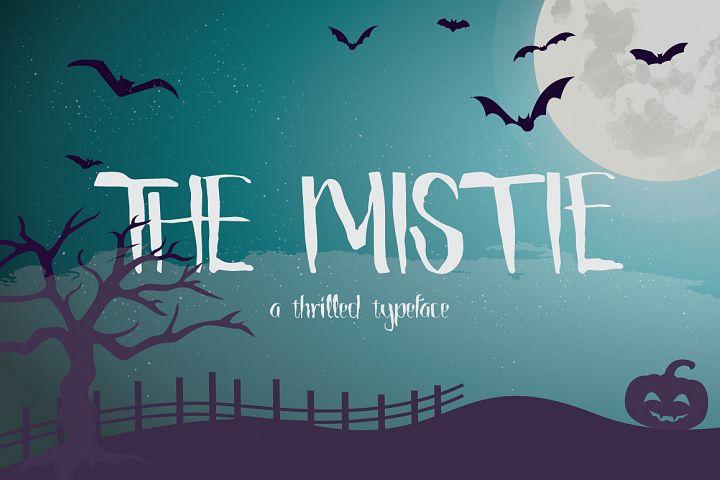 The Mistie Typeface