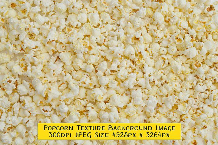 Popcorn Texture Background Image