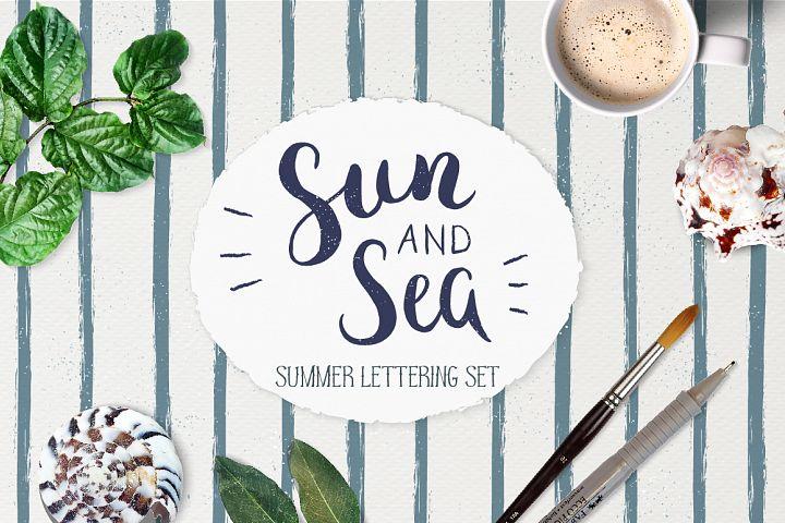 Summer Lettering Pack +BONUS