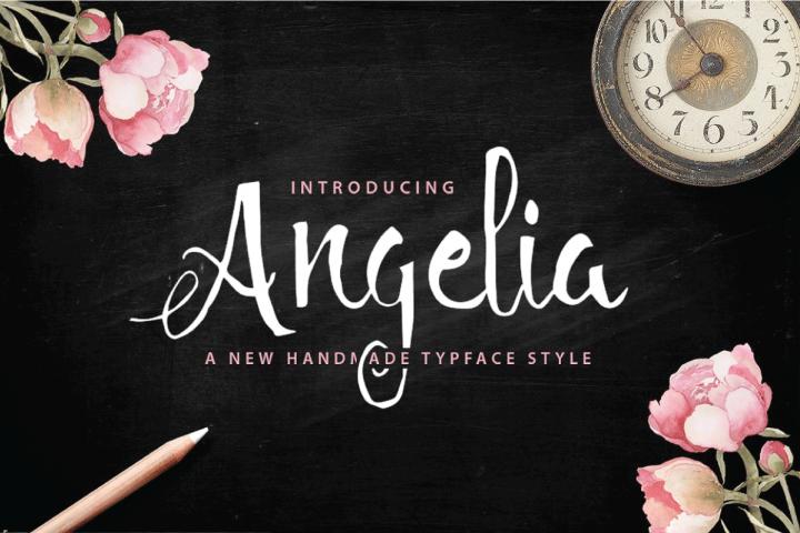 Angelia Script