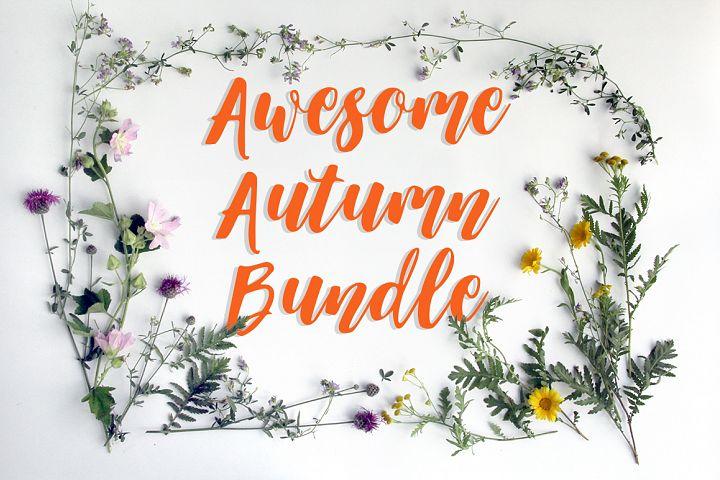 Awesome Autumn Bundle