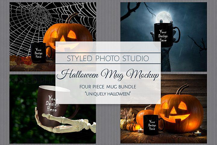 Halloween Mug Mockup Bundle