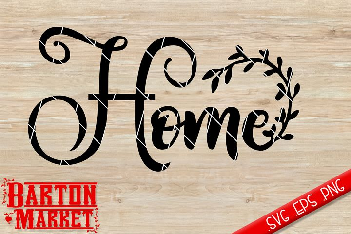Home Wreath SVG / EPS / PNG