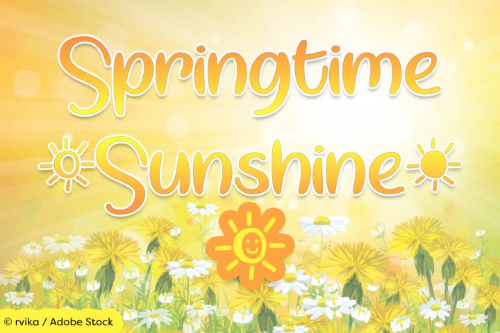 Springtime Sunshine