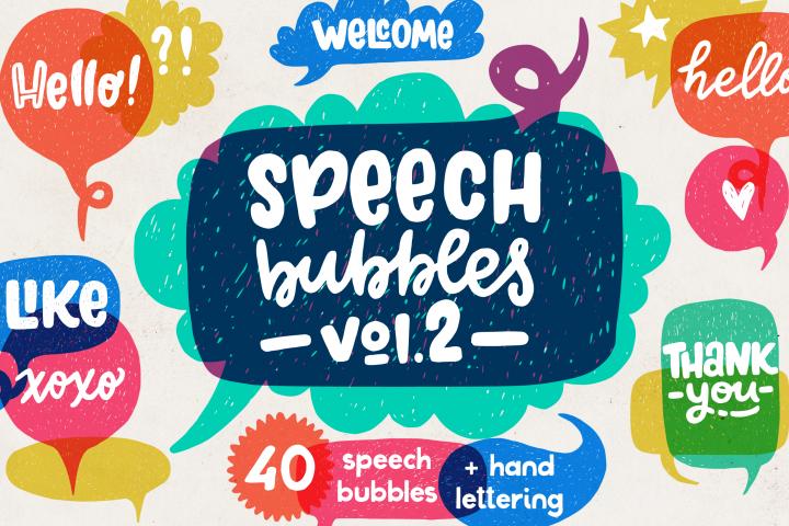 Speech Bubbles collection. Vol. 2