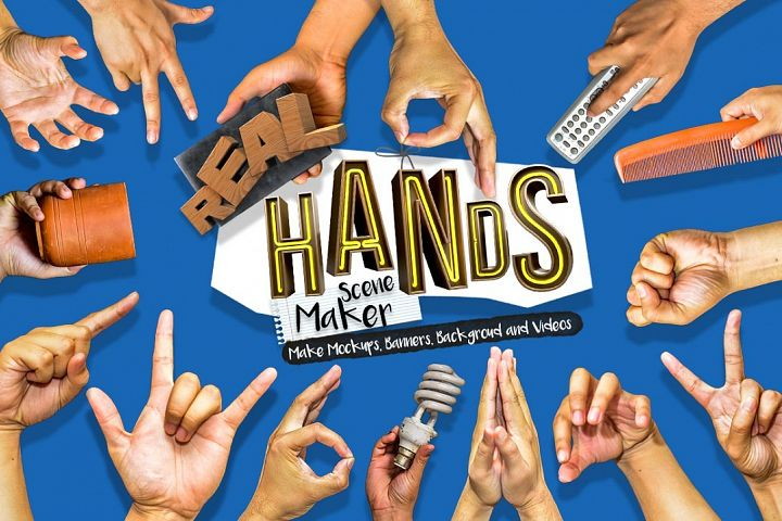 Hands Scene Creator - Free Design of The Week