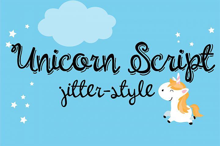 PN Unicorn Script Jitter