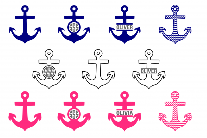 Anchor svg, nautical svg, sailing svg