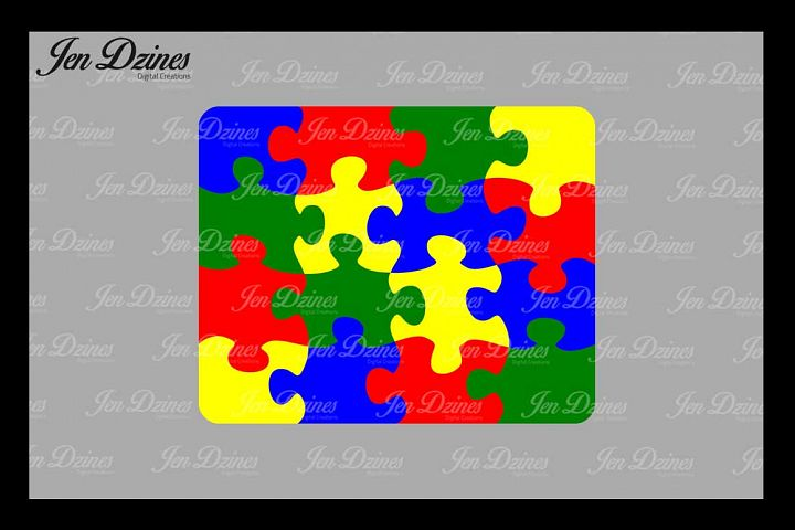 Puzzle SVG DXF EPS PNG
