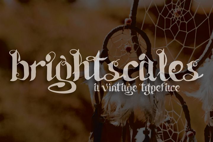Brightscales Typeface