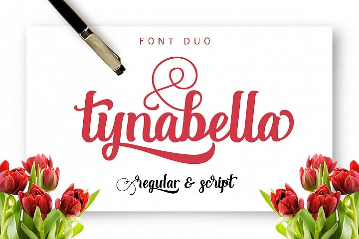 Tynabella  - Free Font of The Week