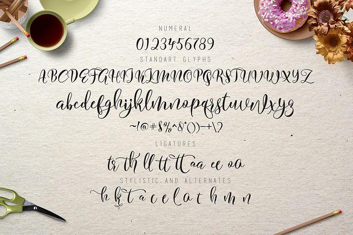 Flitte Script - Free Font of The Week Design 4