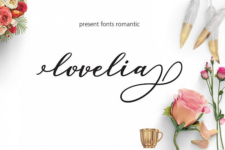 Lovelia Script & Comic - Free Font of The Week