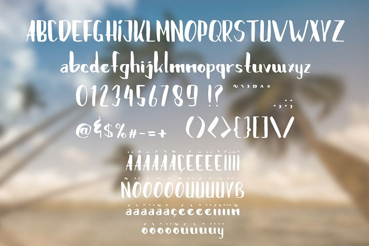 Brushylicious - Free Font of The Week Design 4
