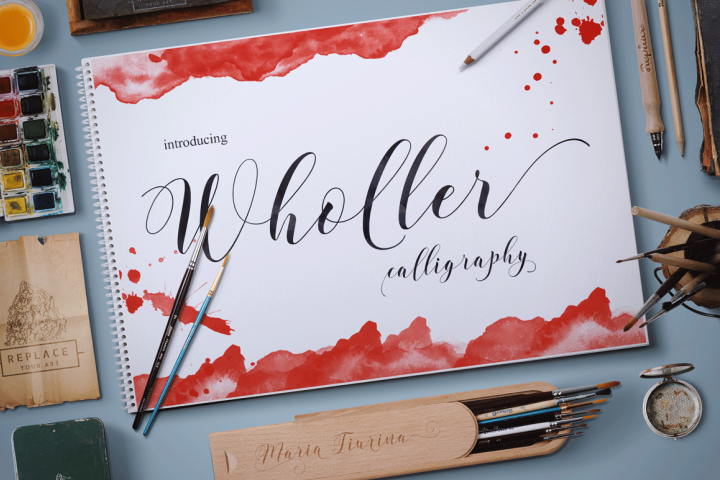 Wholer - Free Font of The Week