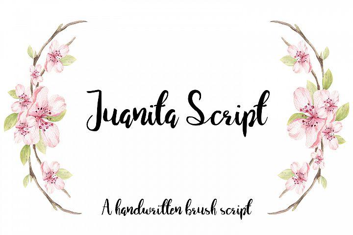 Juanita Brush Script