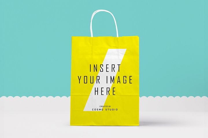 Paper Bags Mockups Vol.2