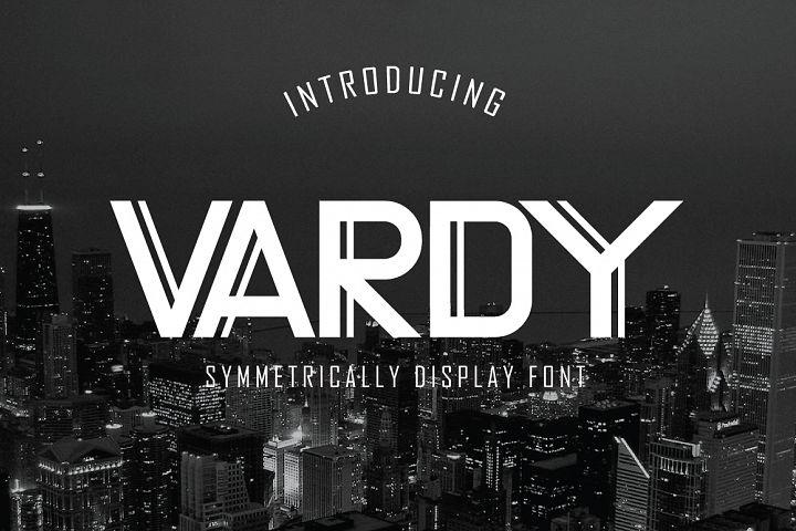 Vardy Display Typeface