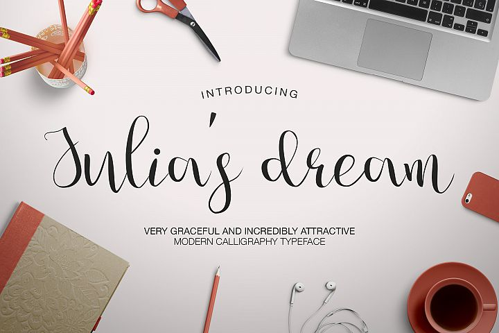 Julias Dream - Free Font of The Week