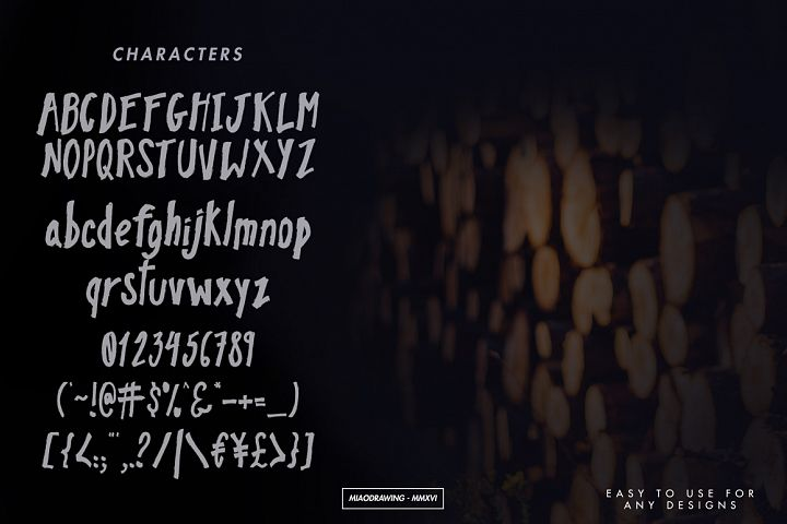 Pinebrick Typeface - Free Font of The Week Design 1