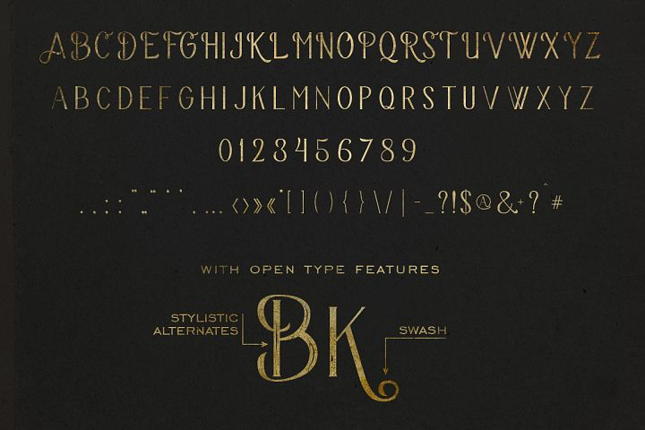 The Bravery Typeface - Free Font of The Week Design 4