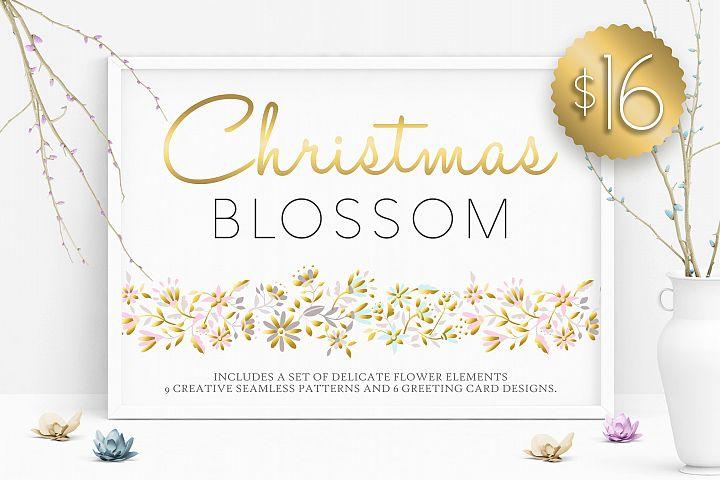 Christmas Blossom Set