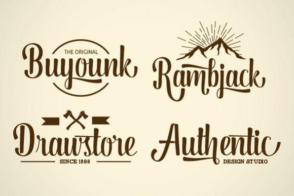 Dorayaki Script - Free Font of The Week Design 4