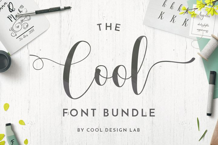 Cool Font Bundle