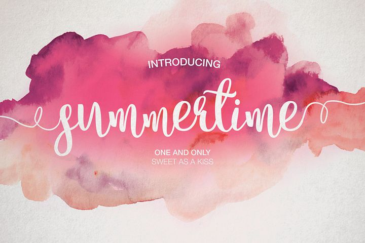 Summertime - Free Font of The Week