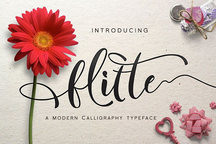 Flitte Script - Free Font of The Week
