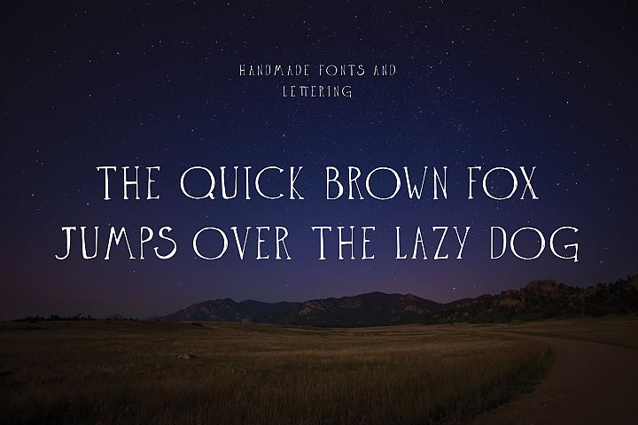 The Anomali - Free Font of The Week Design 3