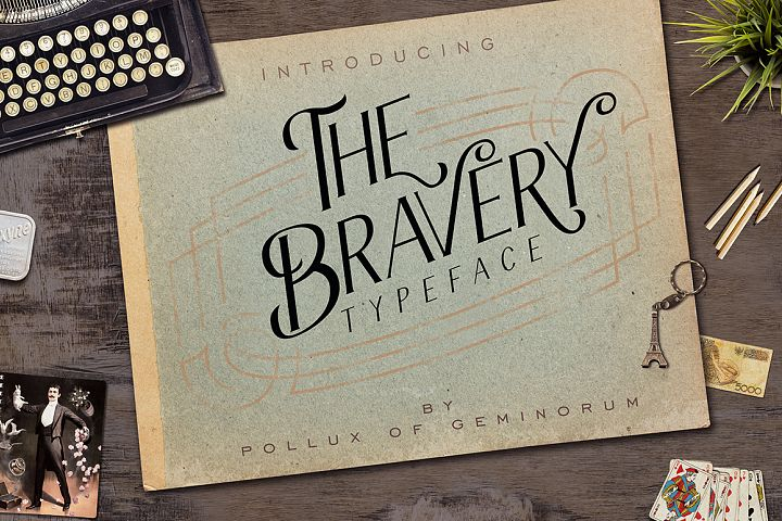 The Bravery Typeface - Free Font of The Week