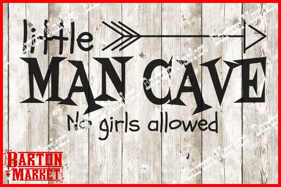 Little Mancave SVG
