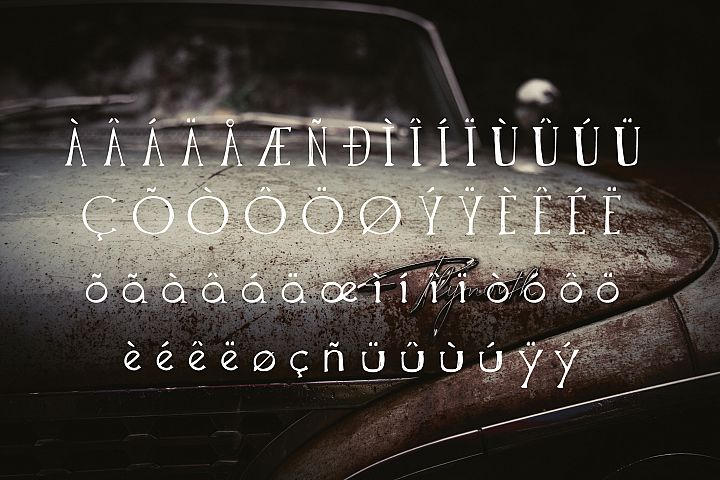 The Anomali - Free Font of The Week Design 5
