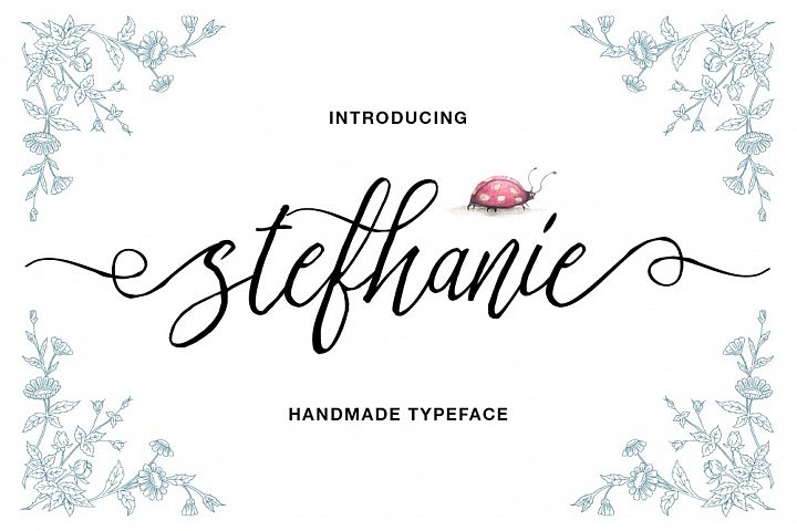 Stefhanie Typeface - Free Font of The Week