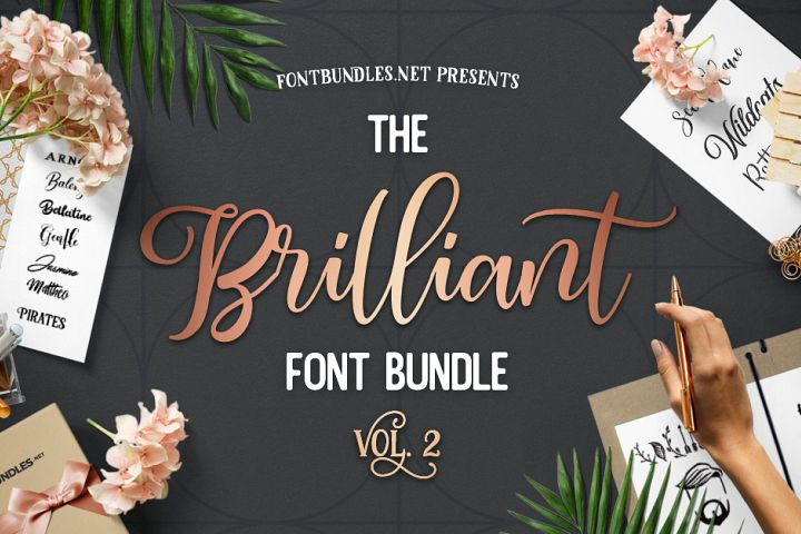 The Brilliant Font Bundle Volume II