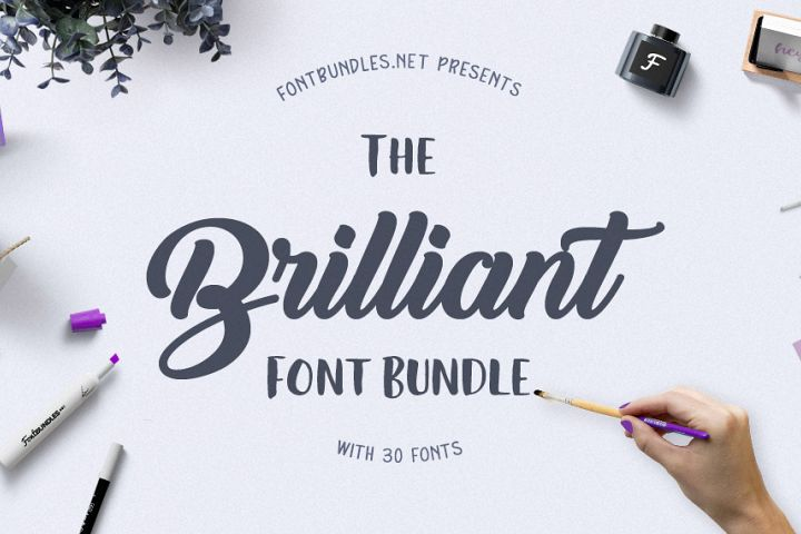 The Brilliant Font Bundle